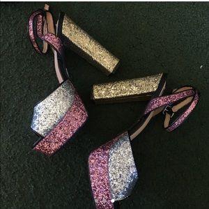 Cape Robbin sparkly heels